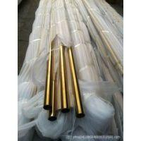 304不锈钢镜面玫瑰金管 真空电镀厂家直销