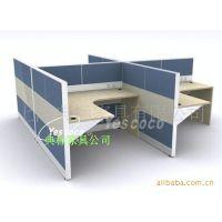 【厂家直供】时尚现代屏风办公桌 上海优质屏风办公桌