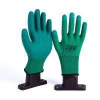 13针乳胶皱纹半挂手套 堪比星宇质量 劳保手套 工厂直销 加工代理