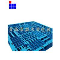 黄岛前湾港木托盘生产厂家供应部分进口二手塑料托盘