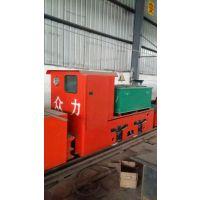 电机车报价供应电瓶车厂家5吨蓄电池式矿用电机车