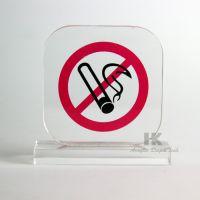 供应 禁止吸烟 请勿吸烟提示牌 禁止吸烟标志牌 亚克力丝印标牌
