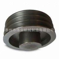 优质铸铁传动皮带轮 机床附件皮带轮 皮带盘皮带轮