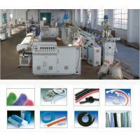PVC电力线缆护套管生产线  PVC纤维增强软管生产线