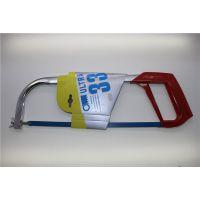 厂家直销12寸新款铝合金钢锯架 电镀方管钢锯弓 手工锯