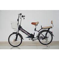 飞锂/FLIVE新款电动车 锂电池自行车 高碳钢车架电瓶车 桑顿48V电动助力车 优行20寸