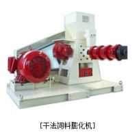 供应HD100G-200G系列单螺杆干法饲料膨化机