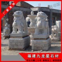 石雕貔貅制作 仿古石头貔貅 天然石材神兽动物雕刻