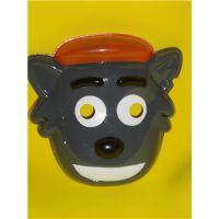 供应喜羊羊与灰太狼面具 灰太狼面具 儿童面具 灰太狼面具 PVC面具