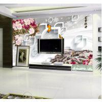 富阳数码瓷砖背景墙彩绘图案定制万能打印机