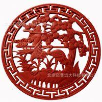 北京厂家供应几何木雕 木雕挂件 实木木雕牌匾