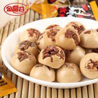广东食品厂家直供金稻谷奶油味话梅散装糖果,零食,休闲食品