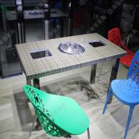 海德利厂家直销办公桌椅回收火锅桌批发厂专业定网吧桌椅厂家做绿餐桌餐椅套装批发代理