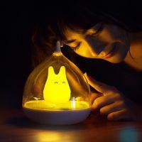 天蜗创意奇幻精灵振动感应小夜灯usb充电台灯氛围灯新奇特节能灯