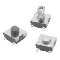 供应OMRON黑色按键B3FS-1000 B3FS-1000P轻触开关 SMD安装