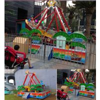 儿童广场海盗船游乐设备 儿童迷你海盗船 可移动电动海盗船游乐设备厂家