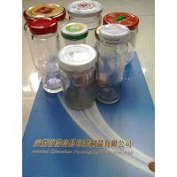 安徽潜山包装制品公司供应30-100型罐头瓶用马口铁材质可印LOG爪式三旋 四旋 六旋金属盖