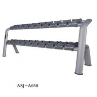 供应奥圣嘉哑铃架ASJ-A038商用健身器械放置架不锈钢制作