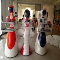 智能新款送餐机器人语音互动智能感应礼仪服务机器人