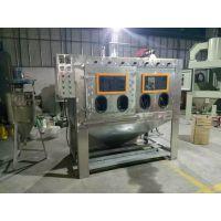 五金制造厂专用双工位水喷砂机-安兴喷砂机