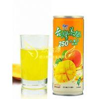 台湾原装进口果汁饮料台湾冠禾 美馔芒果汁饮料245mlX24瓶/箱