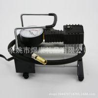 余姚厂家 车载充气泵 轮胎充气机 应急充气泵金属双缸 批发