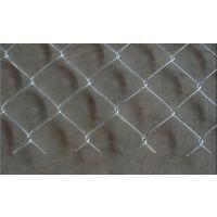 厂家促销镀锌包胶菱形体育场围网,优质菱形6*6公分包塑勾花网