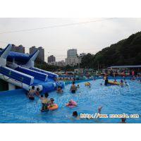 辽宁鞍山大型移动水乐园设计移动支架水池游泳池海豚水滑梯