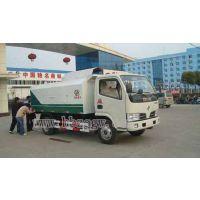 东风中型5方密封式垃圾车,垃圾清运车厂家