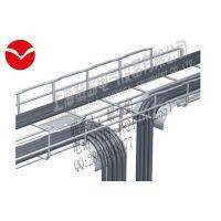 上海鹭岛直销卡博菲桥架、网格桥架、钢网桥架图片、价格