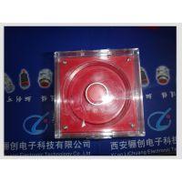 骊创单孔现货事故按钮盒LA10-1SBRE20 防水事故按钮电厂专用