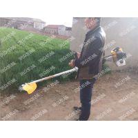 两冲程背负式农田清草机 单人使用简单割草机
