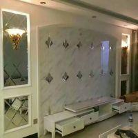 焕彩 安西厂家直销电视背景墙 拼镜适用于餐厅 酒店