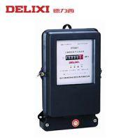 德力西 数显三相电表 DTS 100A 三相电子式有功无功组合电能表