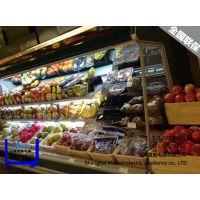 上海夏酷冷藏保鲜柜、风幕柜夜帘、超市冷藏柜保鲜柜、 熟食柜、鸭脖展示柜 玻璃门陈列柜 面点柜、