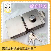 多规格可选1年质保cx203不锈钢方型双门外开门锁球型锁锁具门锁