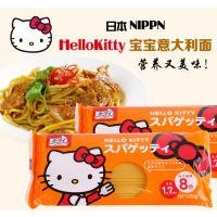 特价 日本产 NIPPN日清 Hello Kitty宝宝面条/意粉250g 17年12月