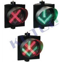 供应300mm红叉绿箭车道指示灯(一单元)