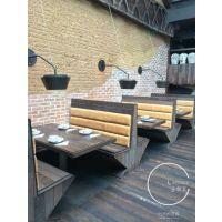供应外婆家餐厅桌椅(实木椅子桌子)乐叙瓦品牌定制