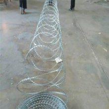 旺来铁丝刺绳 刺绳护栏展示 安全防护网