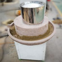 腐坊 电动豆浆石磨机 文轩小型传统豆腐石磨