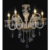 CVMA厂家直销5030C-6A 简约水晶灯具餐厅白炽灯 卧室吊灯蜡烛水晶灯欧式