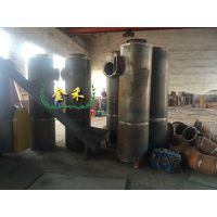 烟尘处理塔净化器的配置让碳化炉生产具备环保性