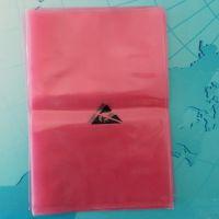 红色pe防静电袋 pe袋 透明平口袋 包装袋 塑料袋 可订做