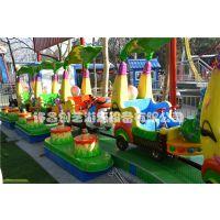 供应香蕉环车游乐设备生意火爆的公园游乐项目香蕉火车生产厂家及图片