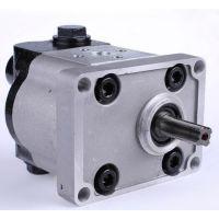 供应HLCB-D18/18恒流溢流齿轮油泵(犀牛愚公小型履带挖机专用)