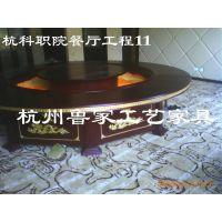 杭州饭店,酒店宾馆标准房家具厂--杭州科技职业学院餐厅家具11