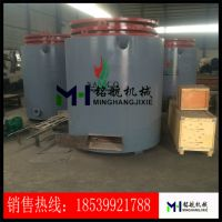 新型连续式吊装炭化炉 机制木炭炭化 多用途环保无烟炭化炉