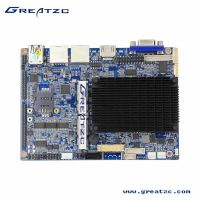 供应工控级3.5英寸主板ZC35-EN2807DL,无风扇双网卡6串口设计,支持RS485/422
