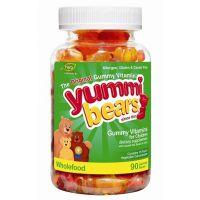 yummi bears有机小熊软糖行邮清关至中国 供应香港清关进口物流渠道